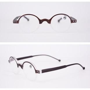Unisex Round Reading Glasses -US$8.10