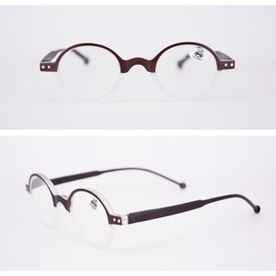 Unisex Round Reading Glasses -US$8.10