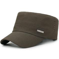 Casual Cotton Flat Cap-RM37.03