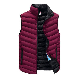 Stylish Outdoor Solid Color Warm Vests-US$26.85