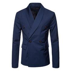 Slim Fit Business Blazer Suits-US$34.92