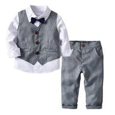 3Pcs Boys Formal Sets For 2Y-9Y-US$35.99