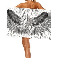 Piano Animal Printing Towel Cover Ups-RM63.03
