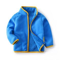 Soft Fleece Girls Coats For 2Y-13Y-US$32.99