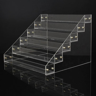 6Pcs Tiers Detachable Clear Acrylic Nail Polish-RM76.76
