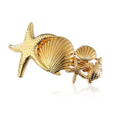 Cute Starfish Conch Hairpin -US$6.99