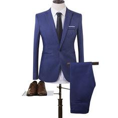 Decent Breathable 90%Cotton Two Pieces Suits-US$26.59
