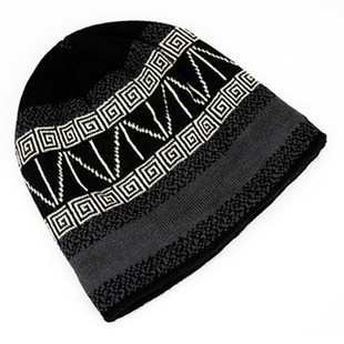 Winter Wool Velvet Knit Cap -US$11.20