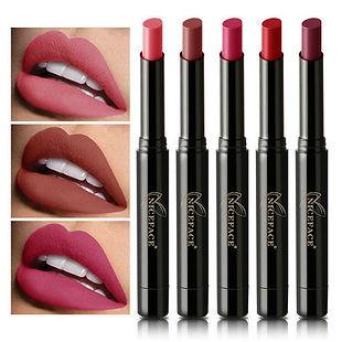 16 Colors Matte Lipstick Long Lasting Velvet Lipsticks Pencil Nude Lip Stick Pen Lip Comestic - RM37.84