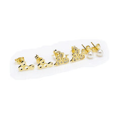 JASSY® 925 Silver Honeybee Pearl Earrings-US$27.71