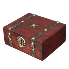 Vintage Jewelry Box Retero Necklace Bracelet Gift Box Case Holder-US$8.75