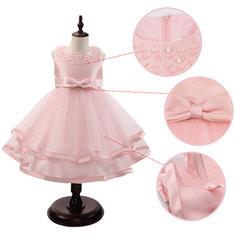 Girls Beading Formal Dress For 3Y-13Y-US$34.99