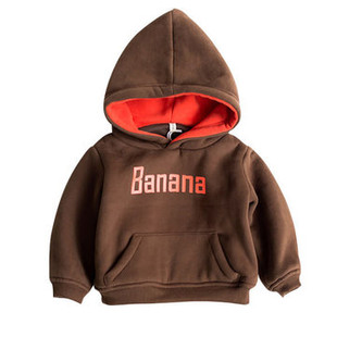 Letter Print Thicken Hoodies For 1Y-7Y -US$27.99