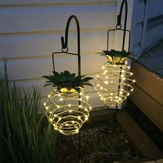 Solar Powered 20 LED Pineapple Light -US$10.91