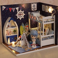 Face to Sky DIY Wooden Dollhouse-US$24.56
