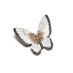 Elegant Colorful Butterfly brooch-US$9.49