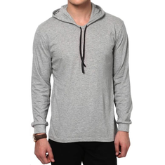 Casual Loose Breathable Hooded T Shirt-US$14.93