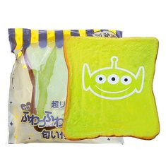 Alien Big Expression Bread Squishy-US$7.98