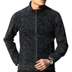 Outdoor Double-Side Fleece Warm Jacket-US$29.42