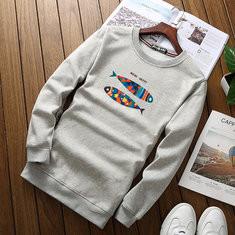 Printing Warm Cotton Sweatshirt -US$22.71