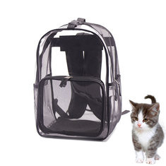 Breathable Mesh Pet Travel Backpack Carrier-US$26.75