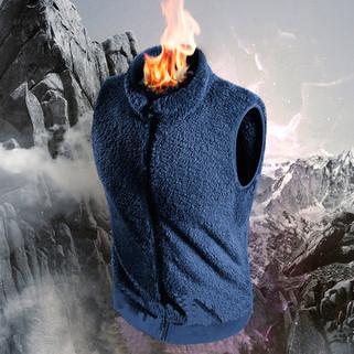Outdoor Double Side Fleece Warm Vest-US$19.88
