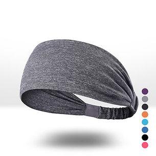 Men Women Wicking Sweat Breathable Comfortable Headband Indoor Sport Yoga Climb Mountain -RM30.15