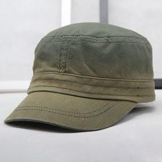 Men Adjustable Denim Flat Cap-RM62.87