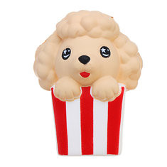 Kawaii Popcorn Puppy Squishy-US$6.87
