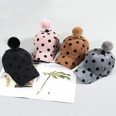Girls Beanie Baseball Cap For 2-8 Years-US$13.00