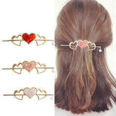 Trendy Hollow Heart Hairpin-US$11.47