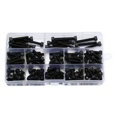 140Pcs M5 12.9 Grade Carbon Steel Hex Socket Cap Head Screw-US$15.99