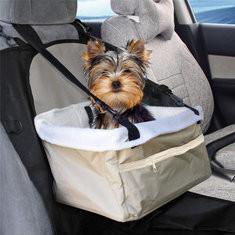 Foldable Soft Pet Car Front Seat Basket Carrier-US$10.55