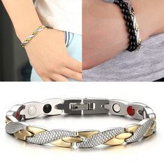 Fashion Magnetic Therapy Bracelet -RM111.51
