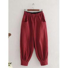 Elastic Waist Harem Pants-RM 115.23