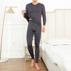 Simple Design Warm Long Johns-US$21.99