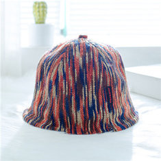 Rainbow Kids Bucket Cap For 2-8 Years-US$12.00