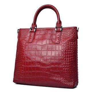 Women Cowhide Genuine Leather Tote Handbag -US$59.47
