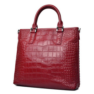 Women Cowhide Genuine Leather Tote Handbag -US$59.47