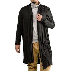 Men Knit Cardigan Jacket Overcoat-US$16.69