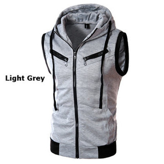 Mens Summer Casual Vest Fashion Sleeveless H-US$19.75