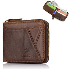 Genuine Leather 12 Card Slot Wallet For Men