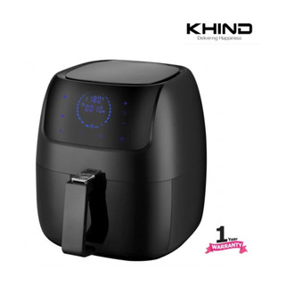 Khind Air Fryer ARF3000 with Digital Display - 3L, Multi Function (8 options) [LATEST MODEL] RM275.00