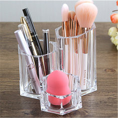 Transparent Makeup Brush Box-US$10.86