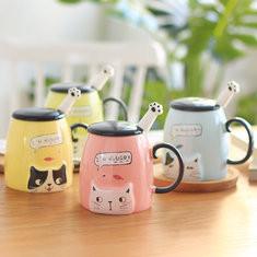 Cute Cat Ceramics Mug -US$14.00