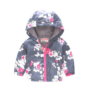 Toddler Girl Printed Coats For 2Y-9Y -US$17.99