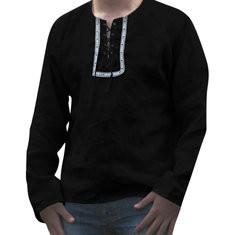 Men's  National Style Loose Shirt -US$19.99