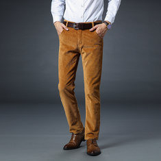 Casual Warm Corduroy Trousers -US$34.62