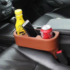 Leather Car Seat Cup Holder-US$12.99