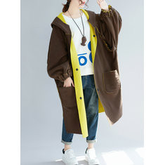 Loose Pockets Reversible Coat-RM231.99